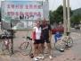 Erste Radrunde außerhalb Pekings