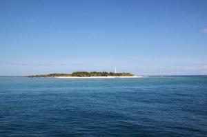Apo Reef Island, völlig abgelegen
