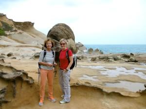 skurrile Steinformationen im National Park