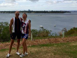 Lieblingsausblickspunkt am Swan River.