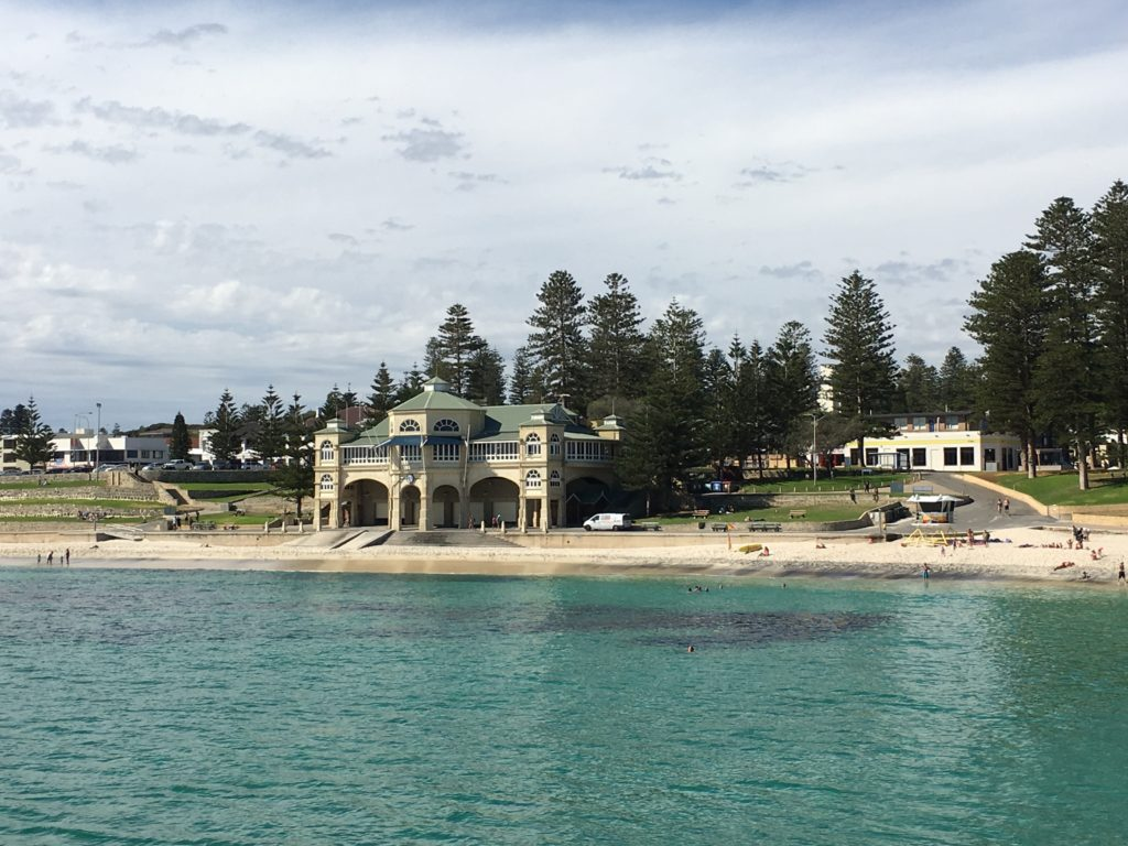 "Unser Hausstrand ""Cottesloe Beach"""